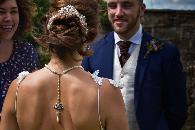 Rustic Bridal Styled Hair