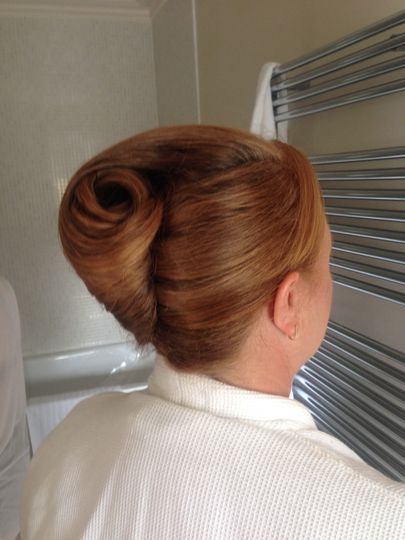 Mother of bride hair up