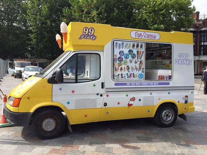 Fat Sam's Ice Cream Van