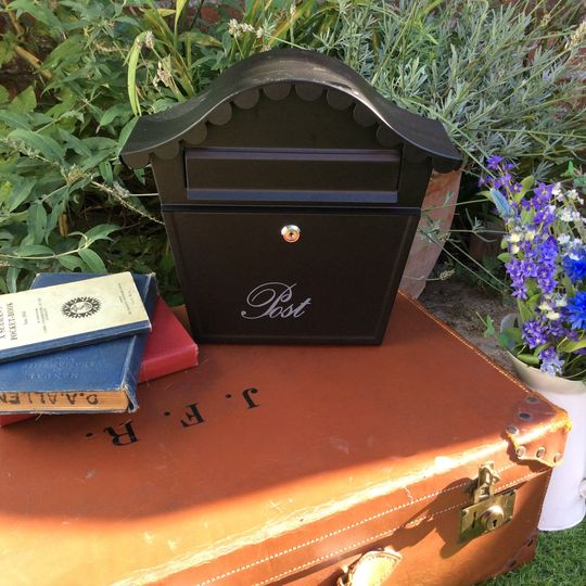 Post box for cards