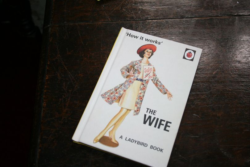 Vintage wife book