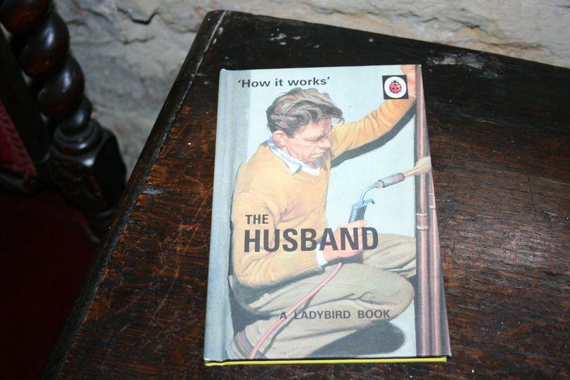 Vintage husband book