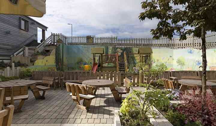 Beer Garden  Play Area