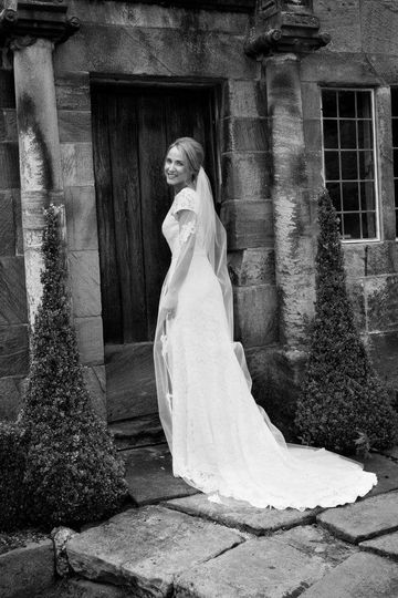 Kate on her wedding day
