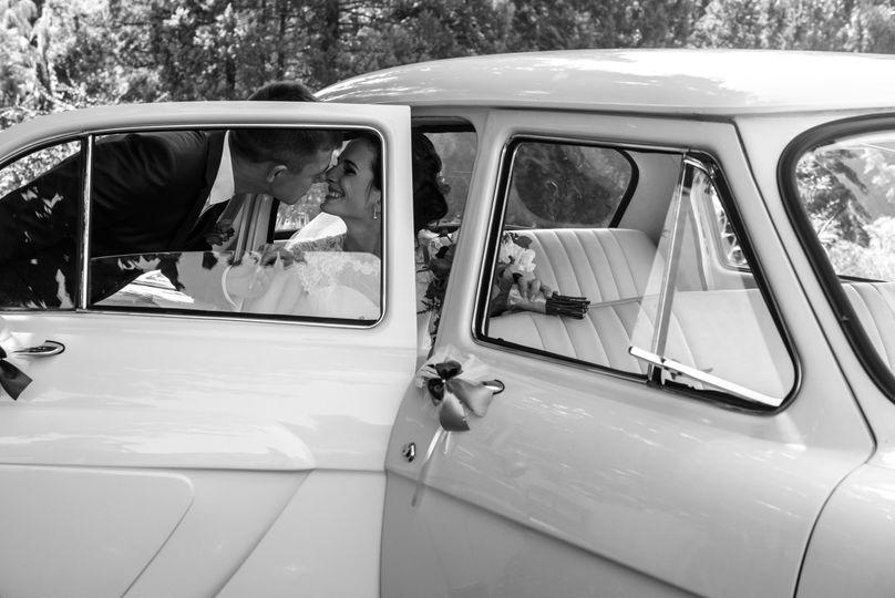 Secret Garden - Vintage Car