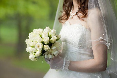 Bride in Grounds