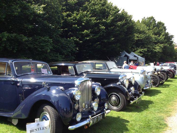 Newby Hall Classic Car Rally