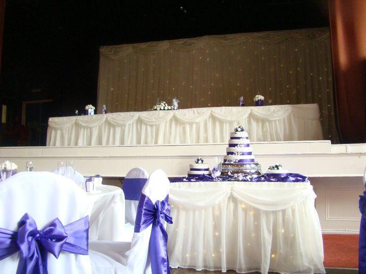 Starlight backdrop set