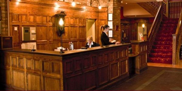 The Celtic Royal Hotel Reception