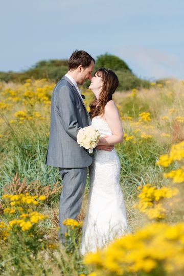 Wedding in Alnmouth