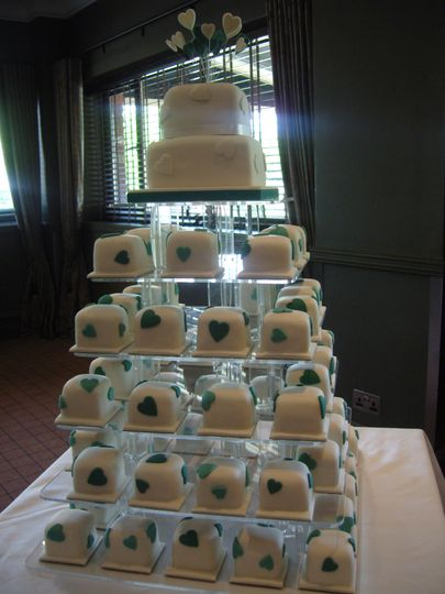 Tower of Mini Cakes