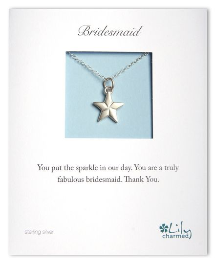 Bridesmaid - Star Necklace