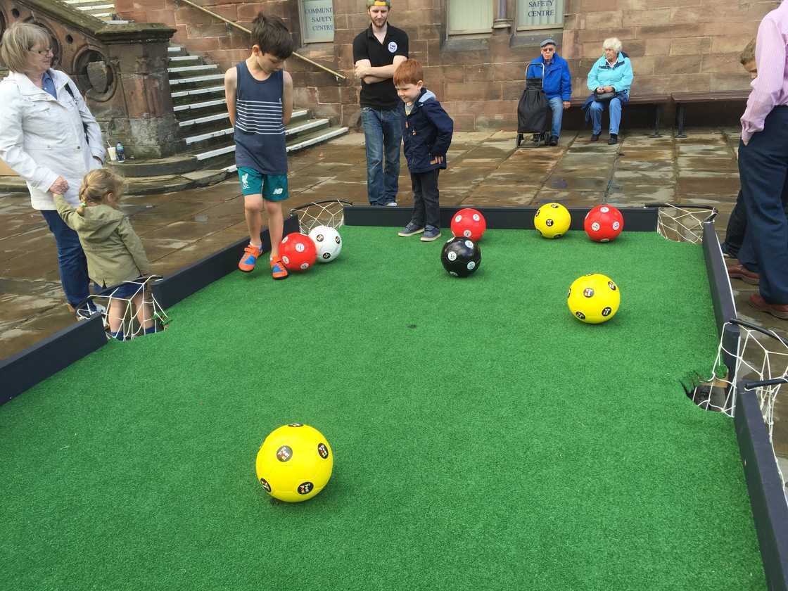 Football pool from Streetwise Soccer | Photos