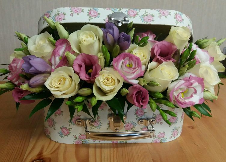 Flowers in a Suitcase