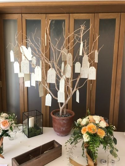 Guest book styling