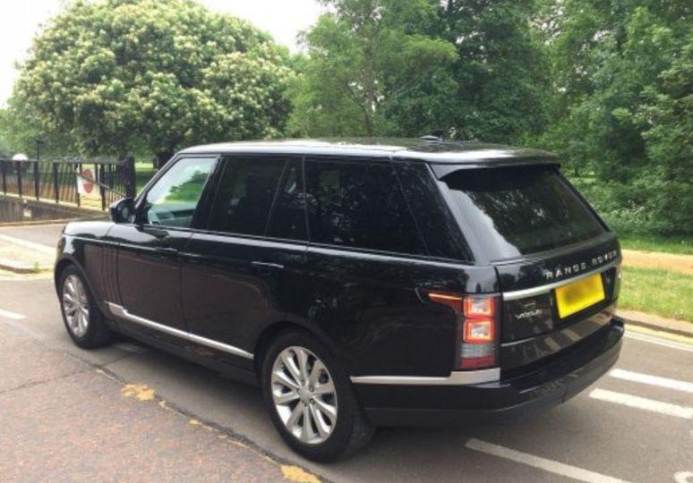 Range Rover Vogue Back