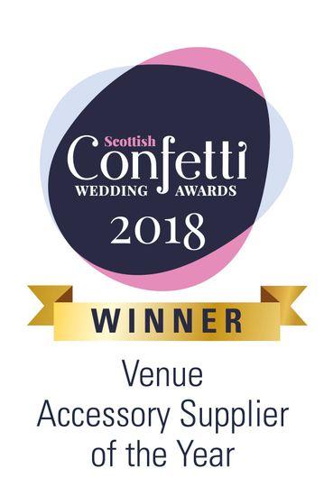 Confetti Wedding Award Winner