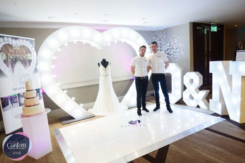 Confetti wedding awards