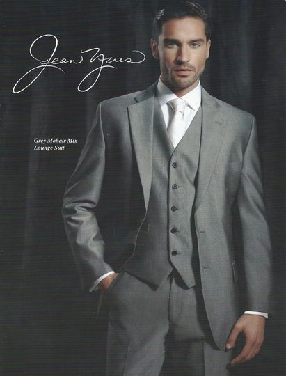 Grey Mohair Lounge Suit