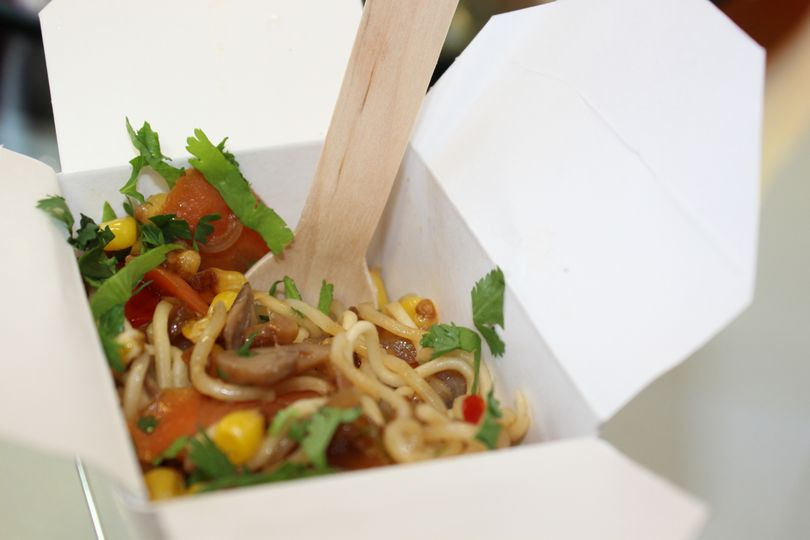 Noodles in a box