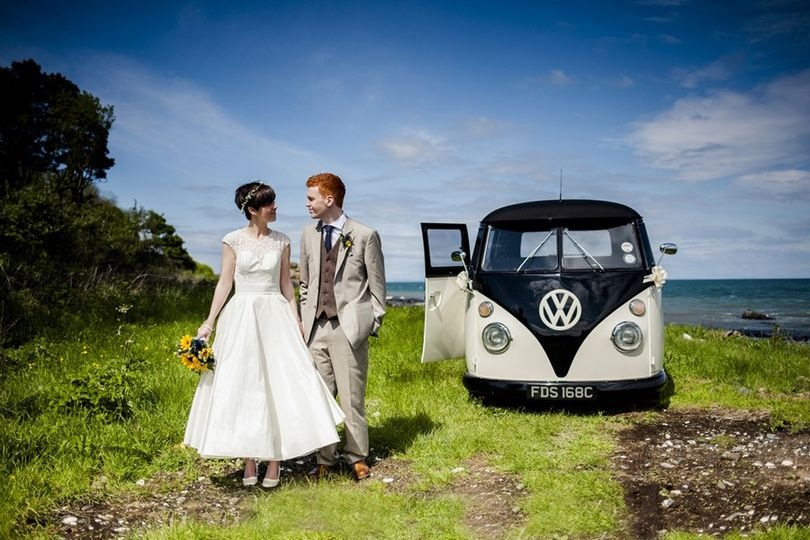 Campervan wedding cars NI