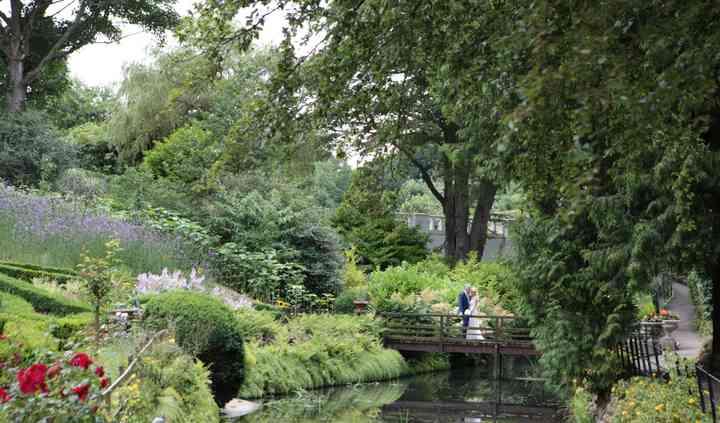 Bridge in garden