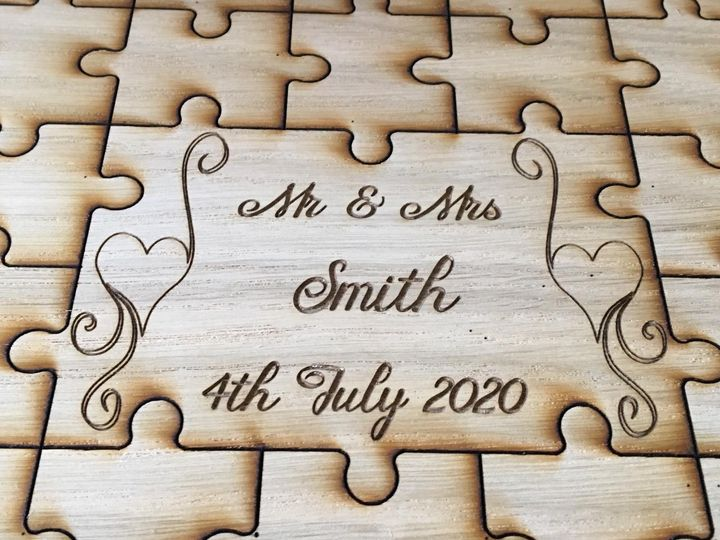 Jigsaw Personalised Insert