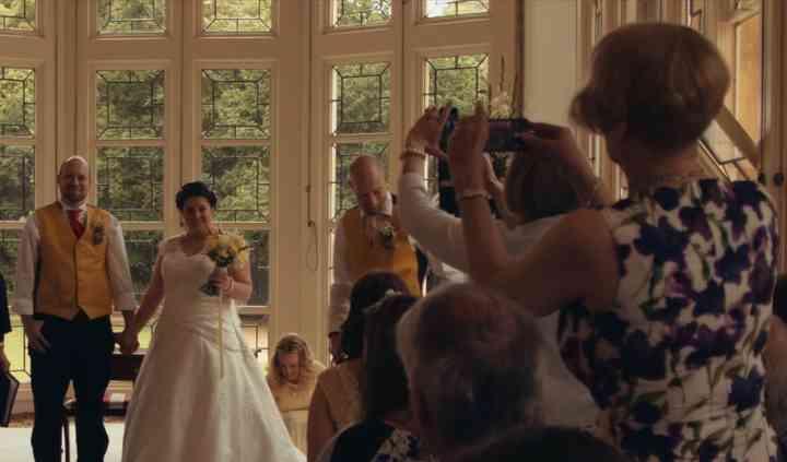 Ceremony filming
