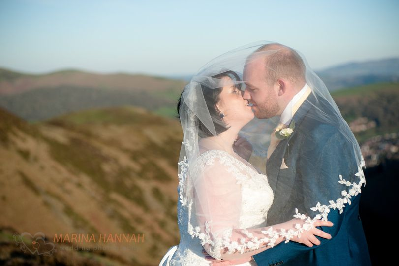 Church Stretton wedding