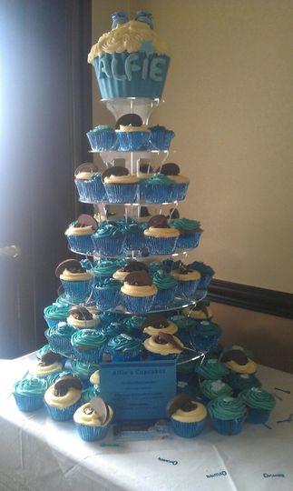 Cupcake tower 30 - 200 cupcakes