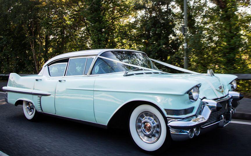 Cuban style 1957 Cadillac