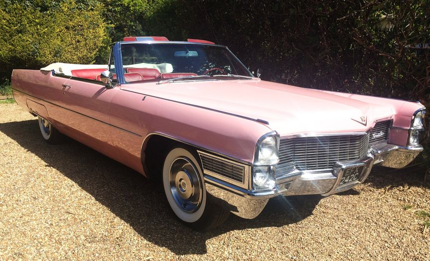 The iconic Pink Cadillac