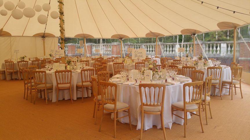 Marquee Wedding Italian Garden