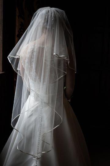 Veil black and white