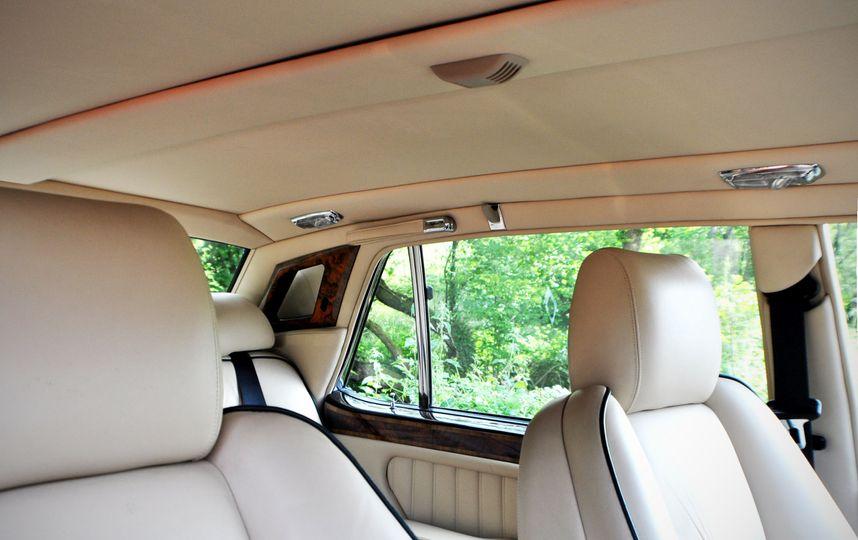 Bentley RL interior