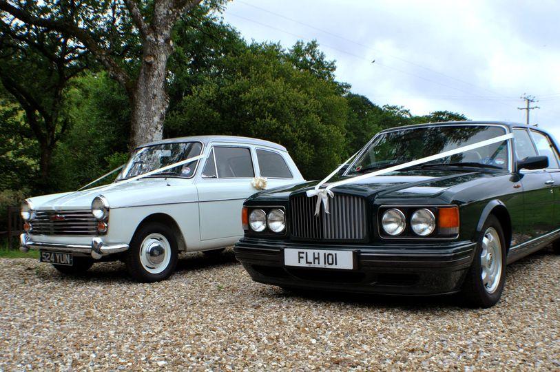 Bentley RL & Austin a40