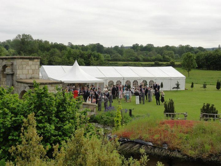 Countryside marquee