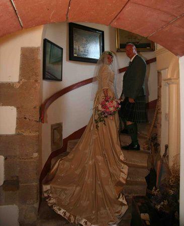 Delgatie Castle weddings