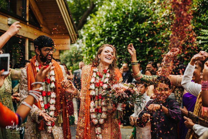 Hindu wedding Styal Lodge
