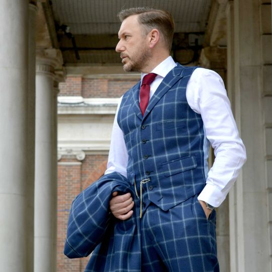 Three-piece Bespoke Suit