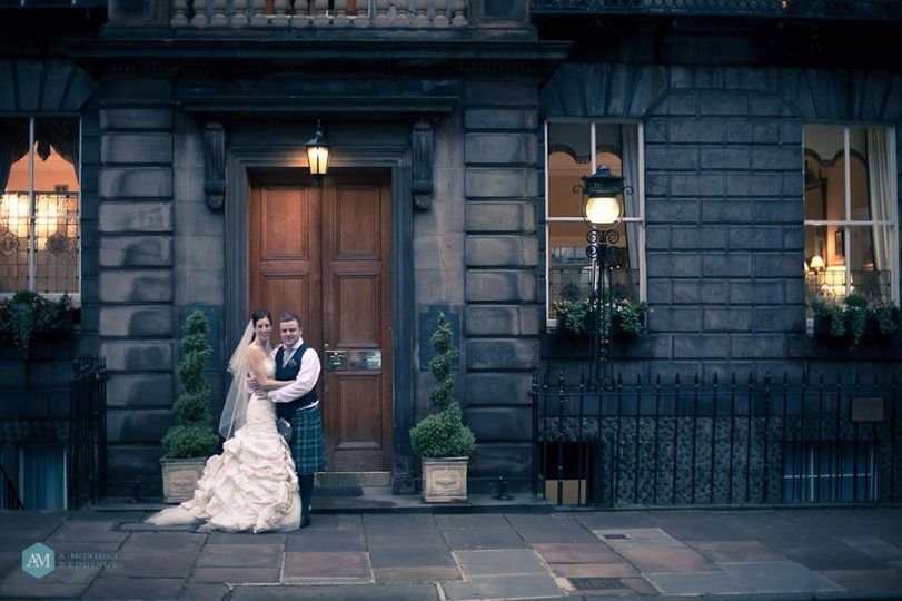 Exterior Royal Scots Club