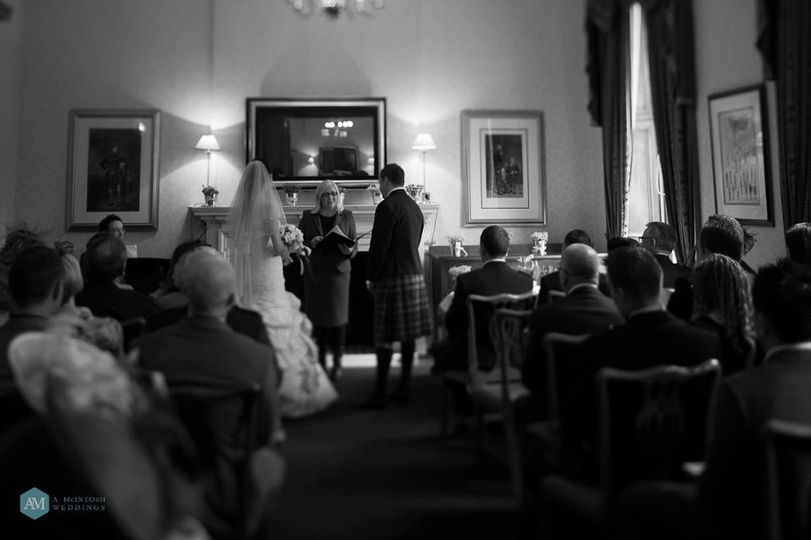 Wedding Ceremony Douglas Suite