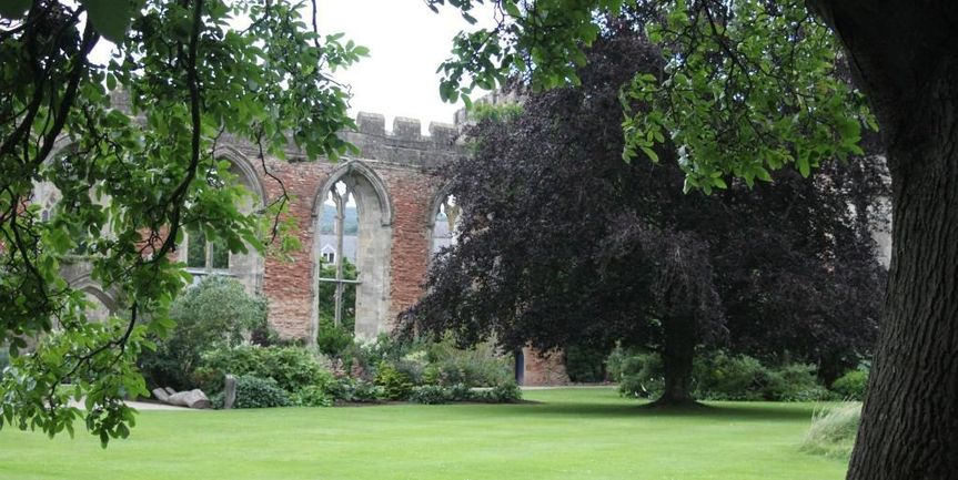 The Bishop's Palace gardens