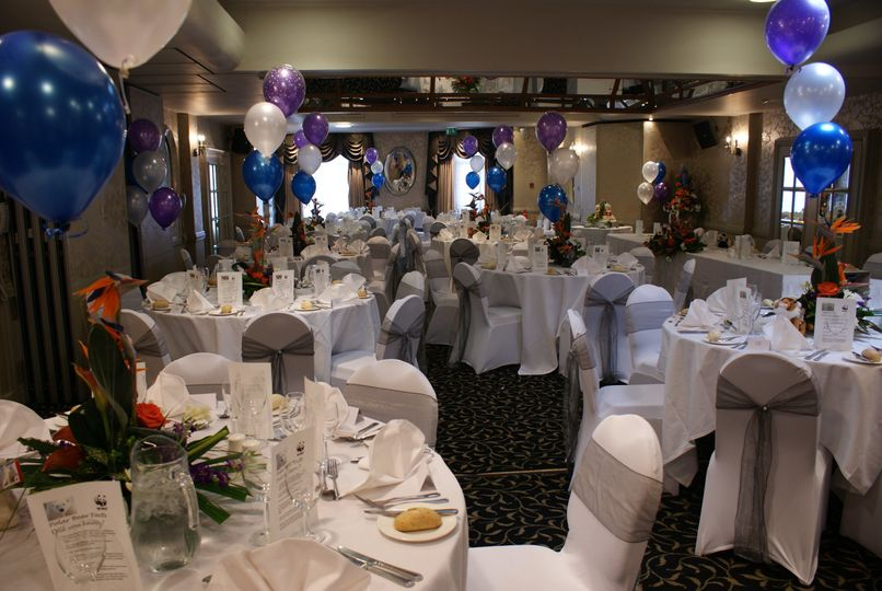 Rose Room Wedding Breakfast From Belmont Hotel Leicester Photo 3