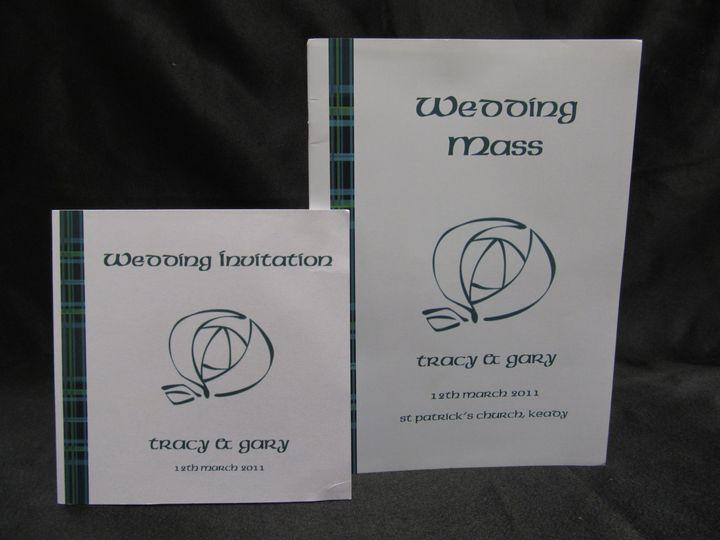 Teal Celtic design