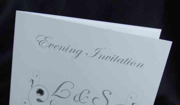 Square Evening invitations