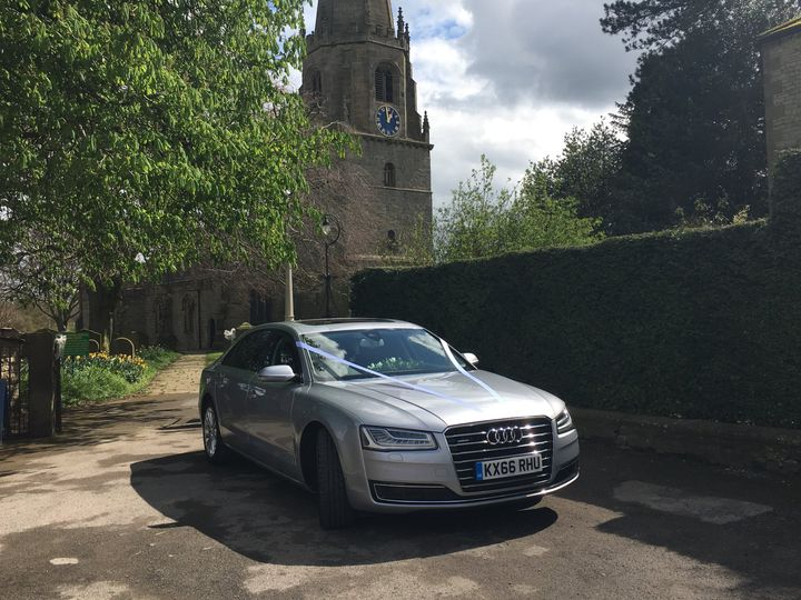 Church wedding in Masham