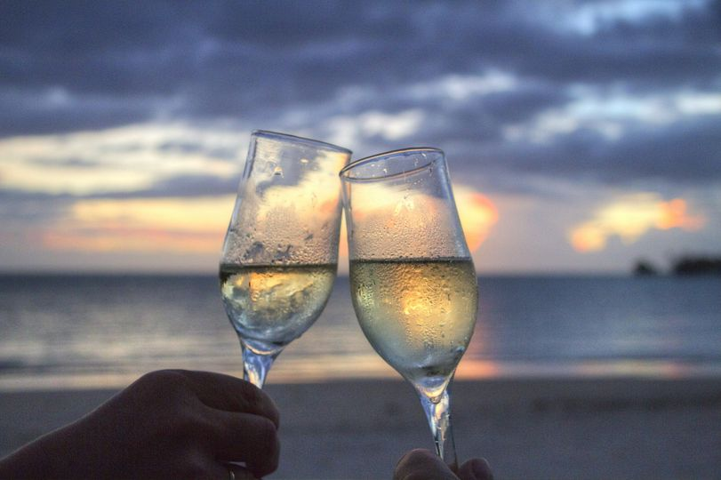 Sunset toast