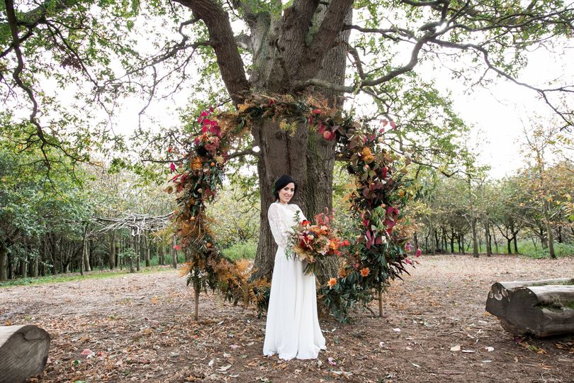 Braintree autumnal wedding