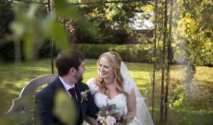 M & J's Norfolk barn wedding